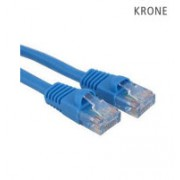Krone Cat6 UTP Patch Blue Molded Cord- 3m