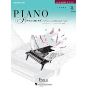 Piano Adventures, Level 3A, Lesson Book, Paperback/Nancy Faber