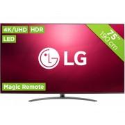 LG 75SM9000PLA Tvs - Zwart