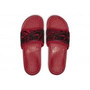 NIKE - obuv SW Benassi JDI SE berry red/ black zebra Velikost: 9