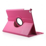 Roze iPad 2017 case hoesje draaibare cover standaard