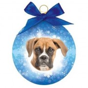 Geen Fout kerstkado dieren kerstbal hond Boxer