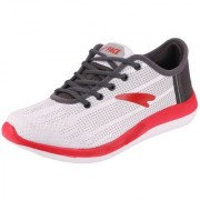 Lakhani Pace Energy Men's White Red Sports Running Shoes