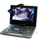 ABB 9.8 - 3D PORTABLE DVD PLAYER + FREE 3D MOVIE CD !!!