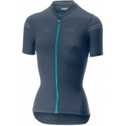 Castelli Promessa 2 tricou ciclism dama Dark Steel Blue L