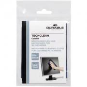 DURABLE · Hunke und Jochheim GmbH & Co. KG DURABLE Techclean cloth Mikrofasertuch, 20 x 20 cm, Reinigungstuch aus Mikrofaser für Bildschirme, 1 Stück