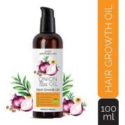 Sage Apothecary Men's and Women's 100 ml Anti Dandruff Hair Fall Treatment Hair Growth Onion Hair Oil