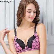 Auri Muffy 2016 Breastfeeding bra maternity underwear nursing bra pregnant women underwear wire free bra lace underwear cup BC