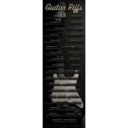 poster Chitară - riffuri - Reinders 15825