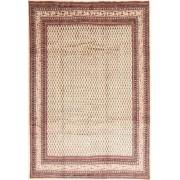 Handgeknüpft. Ursprung: Persia / Iran Echter Teppich Sarough Mir 225X325 Hellbraun/Dunkel Beige/Beige (Wolle, Persien/Iran)