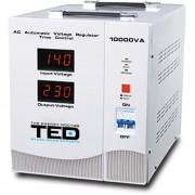 Stabilizator de retea cu triace maxim 10000VA / 7000W Ted 10000 (TED ELECTRIC)