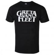 Herren T-Shirt Metal Greta Van Fleet - Logo - ROCK OFF - GVFTS02MB