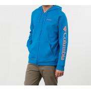 Columbia Logo Fleece Hoodie Blue