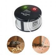 Dispozitiv cu ultrasunete DUO anti șoareci, șobolani și furnici 550 de mp