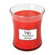 WoodWick Vaza de lumânare parfumată Crimson Berries 275 g