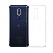 Capa de silicone transparente para Nokia 5.1 (5 2018)