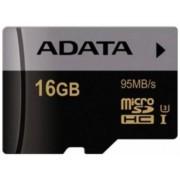Card de memorie A-DATA, Premier Pro, microSDHC, 16GB, Clasa 10, UHS-I