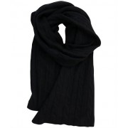 Scarf Cable Black