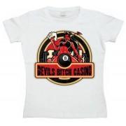 Devils Bitch Casino Girly T-shirt, Girly T-shirt