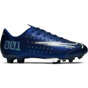 Nike Mercurial Vapor 13 Academy MDS FG/MG Kids Blue - Donkerblauw - Size: 30
