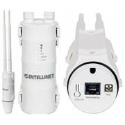 Intellinet High-Power Wireless AC600 Dual-Band Outdoor Access Point / Repeater - 433 Mbps Wireless AC (5 GHz) + 150 Mbps Wireless N (2.4 GHz)