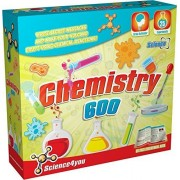 Science4you Chemistry Set 600 Educational Science Kit Includes 25 Exciting Experiments For You To Master For Ages 8+
