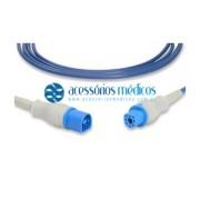PRÉ-CABO SPO2 COMPATÍVEL HP Philips® M1941A/B - Registro Anvisa 80787710010 - NQA-AD055