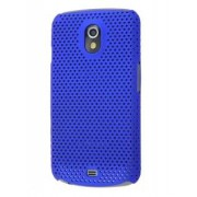 Samsung I9250 Google Galaxy Nexus Slim Mesh Case - Samsung Hard Case (Navy Blue)