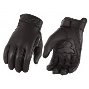 Milwaukee Leather Men's Leather Gloves with Cool Tec Technology (Black, Small)