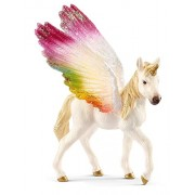 Schleich 70577 Winged Rainbow Unicorn/Foal Figure