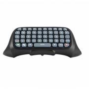 Tastatura chatpad Dobe wireless bluetooth compatibila cu controllerul pentru XBOX 360, negru