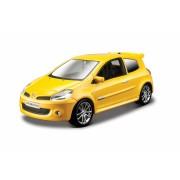 Renault Clio Sport - Metallic Yellow - Minimodele Auto 1:32 Street Fire