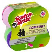 Burete ergonomic, 2 buc/set SCOTCH-BRITE Confort Delicat Colors