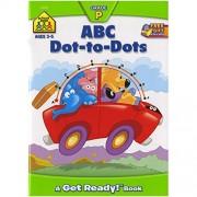 Preschool Workbooks 32 Pages-ABC Dot-to-Dot