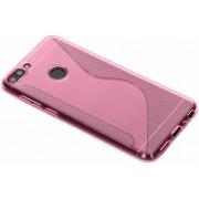 Roze S-line TPU hoesje voor de Huawei P Smart