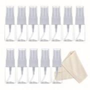DIY Crafts Clear Plastic Fine Mist Spray Bottle 10 ml(Pack of 12)