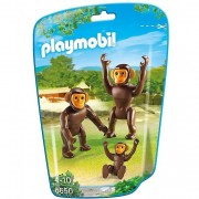 Playmobil famiglia di scimpanzè 6650