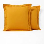 La Redoute Interieurs Fronha de almofada em poli-algodão, com folho, SCENARIOAmarelo-Mostarda- 50 x 70 cm