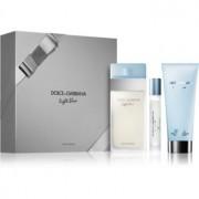 Dolce & Gabbana Light Blue coffret IX. Eau de Toilette 100 ml + creme corporal 100 ml + Eau de Toilette 7,4 ml