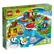 Lego Klocki konstrukcyjne DUPLO Dookoła Świata 10805