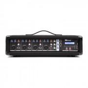Power Dynamics PDM-C405A mesa de mezclas de 4 canales con amplificador, USB y ranura SD (Sky-171.157)