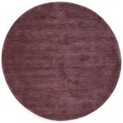 RugVista Handloom - Vinröd matta Ø 150 Orientalisk, Rund Matta