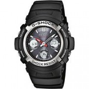 Casio Náramkové hodinky Casio AWG-M100-1AER, (d x š x v) 14.9 x 46.4 x 52 mm, černá