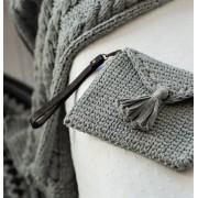 Haakpakket Clutch tas Ribbon XL