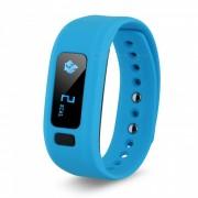 DMDG Bluetooth IP65 Deporte Smart Watch Fitness Tracker - Azul