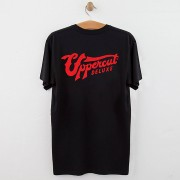 Uppercut Deluxe Uppercut Stay Bold Skull T-Shirt - Black/Red Print - L - Black/Red