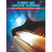 First 50 Movie Songs You Should Play on the Piano, Paperback