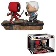 Pop! Vinyl Pack 2 Figuras Funko Pop! Movie Moments Deadpool vs. Cable - Deadpool