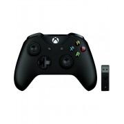 Controler wireless Microsoft Xbox cu adaptor pentru PC