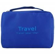 Louiwill Multi Funcional Caso Bolsa De Almacenamiento Para El Viaje (Azul)